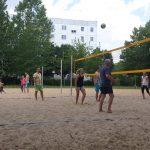 Beachen im SportJugendClub Hellersdorf